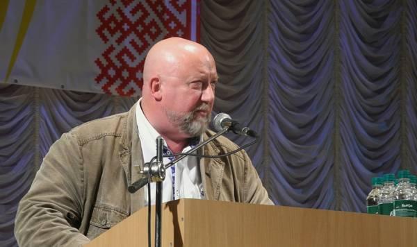 Севастьянов Александр Никитич выступает на первом съезде славян Ставрополья 2013
