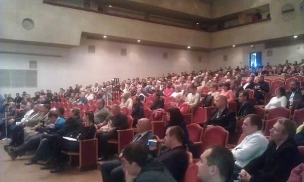 Зал первого съезда славян Ставрополья 2013